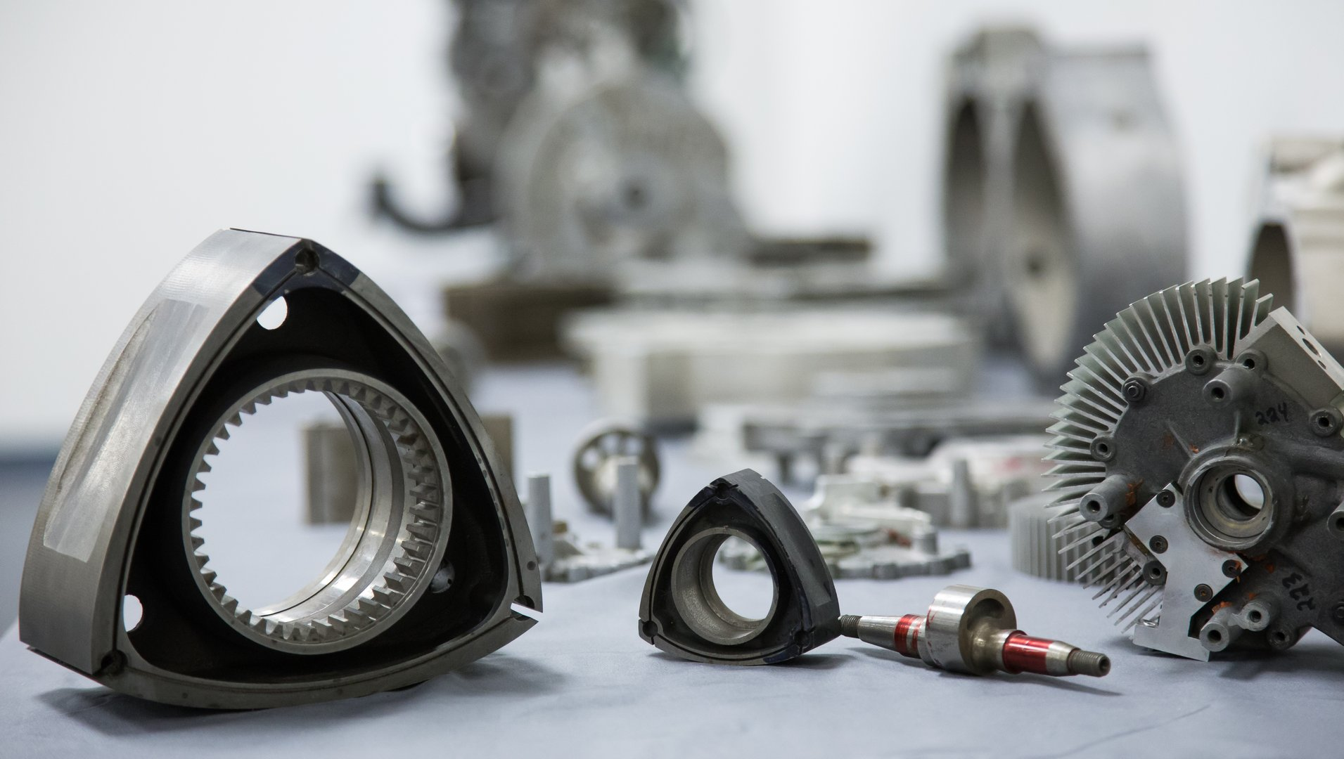 Rotapower Rotary Engine Components